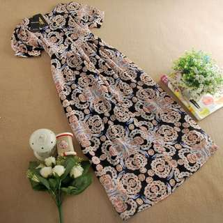 Pretty Long Summer Dress With Tags