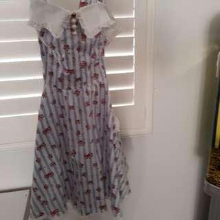 Hell Bunny Dress Mediun (8-10)
