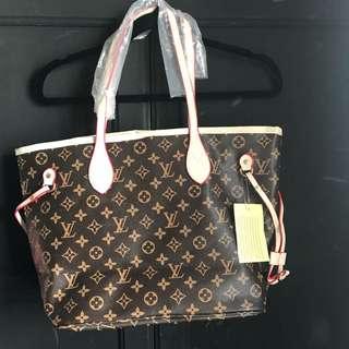 LV Handbag + Makeup/ Purse Copy