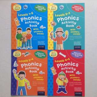 Oxford - Phonics & Reading Skills Activity Books