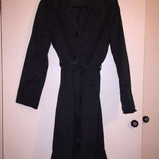 TRISH Cotton Belted Trench Coat