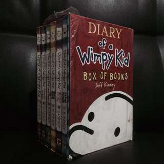 Diary of a Wimpy Kid (Book Set)