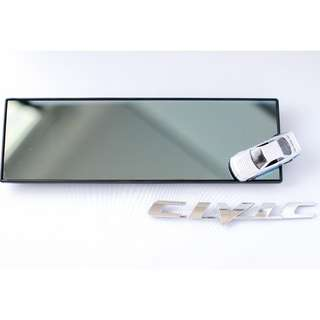 ✨🚙 290mm Broadway Wide Flat Blue Rear View Mirror 🚙✨