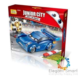 LOZ min 反斗車王 積迅黑旋風 Carz 鑽石積木 小顆粒 不是LEGO mini block 賽車 暑假玩 反斗車王3