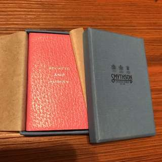 "Pink Mini ""Secrets And Wishes"" Notebook From Smythson"