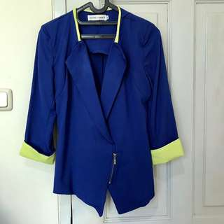 Blue Simple Chic Jacket