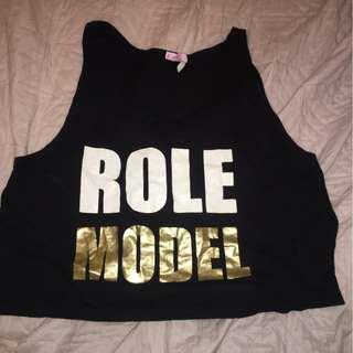 Role Model Crop Top