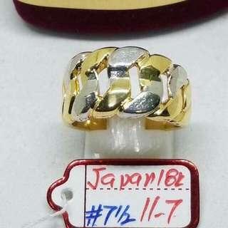 Japan Gold Ring