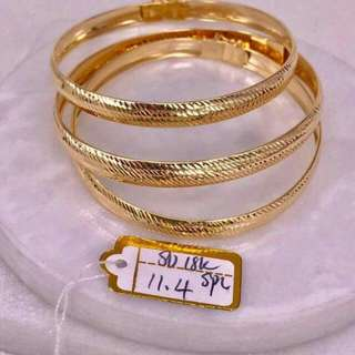Italy Gold Bangles