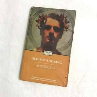 Oedipus The King Sophocles Book