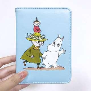 🚚 Moomin 姆敏 嚕嚕米護照套 行事曆套 手帳本