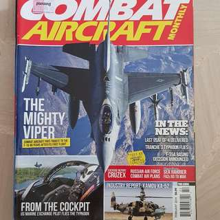 Combat Aircraft - The Mighty Vipers