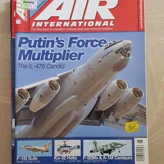 Air International - IL 476 Putin's Force Multipliers And F-16I Sufa