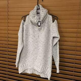 CAROLINE MORGAN cut-out Knit (BNWT)