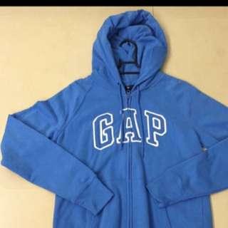含運 Gap 全新寶藍色拉鍊外套