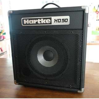 HARTKE HD 50 BASS Amp SOLD!