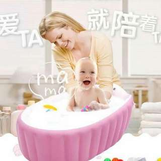 In Time Inflatable Bath Tub 🛀👶