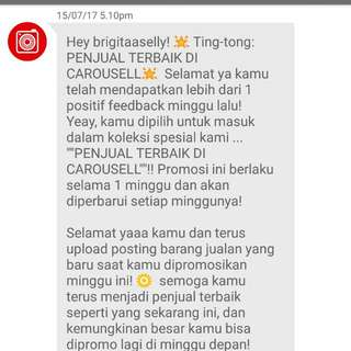 Thank You Carousell😆