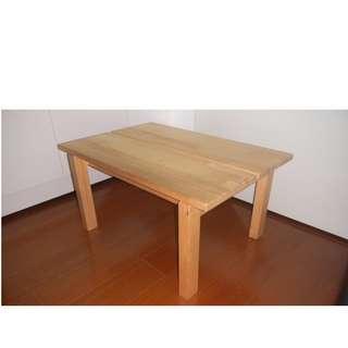 IKEA 多功能實木桌 小餐桌 茶几 電視架 收納架