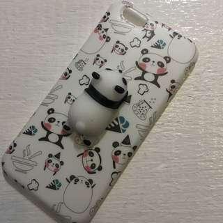 熊貓軟綿綿立體 iphone6/6S電話殻