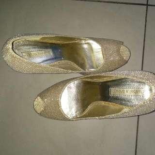 High Gold Heels 12cm
