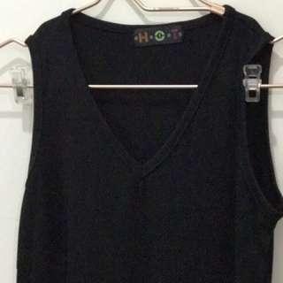 Long Dress Black Merk Hot Dates