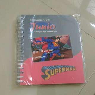 Notebook Garis Superman