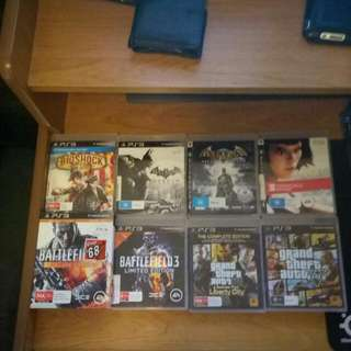 PS3 GAMES $10 EACH