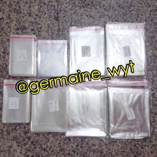 Self-seal Clear Plastic Packaging Bags