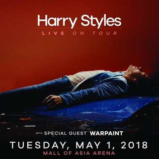 LOOKING TO BUY 2 PLATINUM TICKETS FOR Harry Styles 2018 Manila