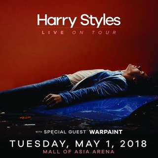 LOOKING TO BUY 2 PLATINUM TICKETS FOR Harry Styles Manila 2018