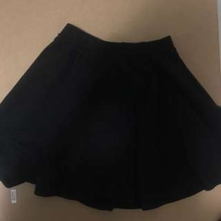 Black Skirt Size xxs COTTON ON