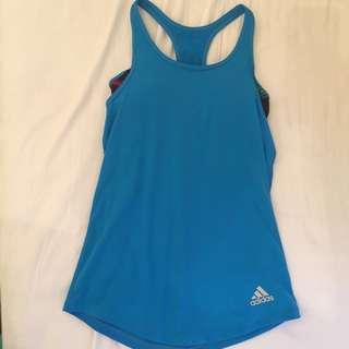 Adidas運動背心含胸墊