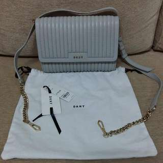 Brand New Authentic DKNY Small Flap Crossbody Bag