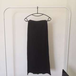 60% OFF - COTTON ON BLACK LONG SKIRT (20019)