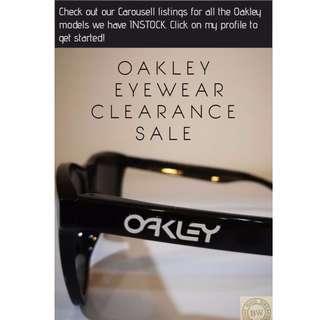 Oakley Prada Rayban Eyewear SALE