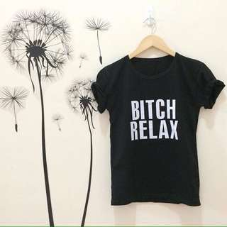 Kaos tumblr black colour free size