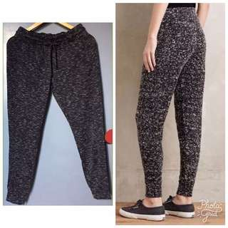 FOREVER 21 Marled Knit Joggers