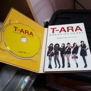 T-ara BREAKING HEART album