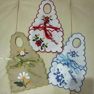 BN Budapest Hand Stitched Embroidered Coasters (1 Set)