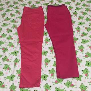 Size32 Bench Pink Cropped Pants