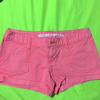 MOSSIMO SUPPLY CO Pink Shorts