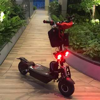 Evo Scooter Hub Motor Chainless 48v 36AH (18AH x 2)