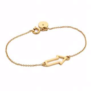 Marc By Marc Jacobs Gold Plated Arrow Bracelet