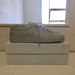 Common Projects Achillies Low Grey size 42 (US9.5-10)
