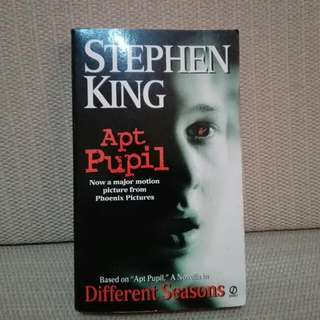 """💥🎆HURRY CHRISTMAS SALE !🎉""""APT PUPIL""""  by STEPHEN KING"""