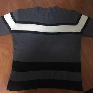 Ribbed Turtle Neck Shirt