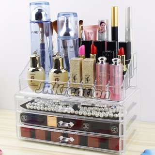 Acrylic Cosmetic Drawer Organizer Holder