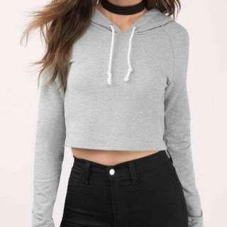 plain hoodie top