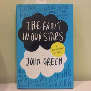 The Fault In Our Stars - John Green (english Ver)
